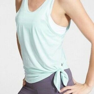 Athleta Mint Green Tank with Removable Bra size S